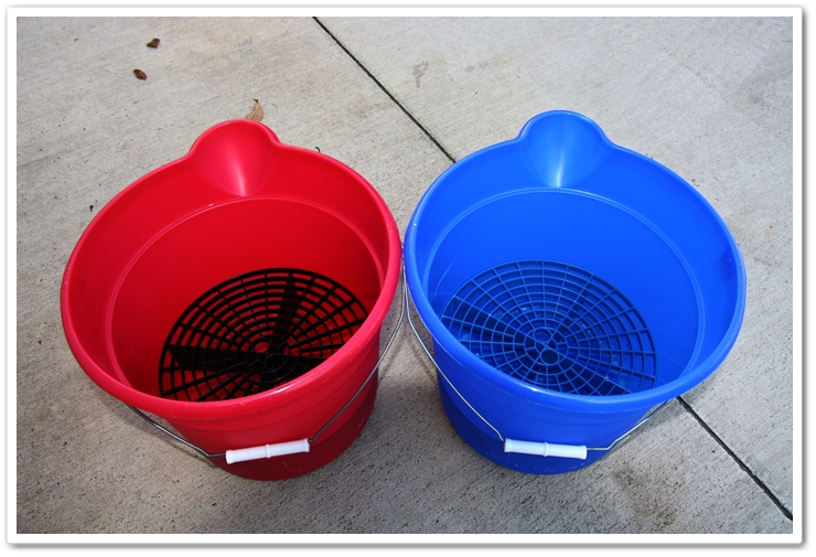 Grit Guards and buckets