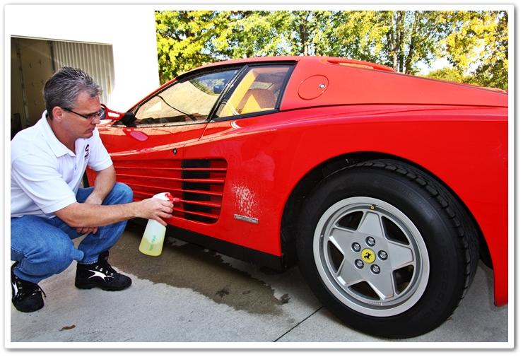 P21S Total Auto Wash pre-soak