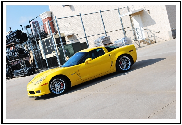 2006 Chevy Corvette Z06 with Dodo Juice Banana Armour Wax