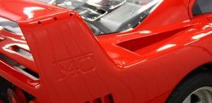 Ferrari F40 Restorative Detail
