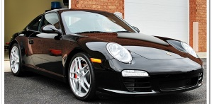 Paint Correction Detail: 2009 Porsche Carrera S
