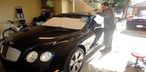 AC Detailing Presents: Bentley Continental GT Vinyl Wrap Removal and Detail