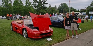 Ferrari Owner reads the DI Blog, Details own F355 Spider, and wins Concours d'Elegance!