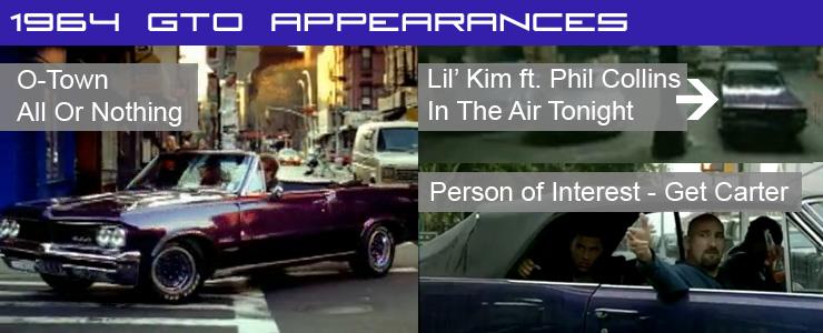 1964 GTO Appearances