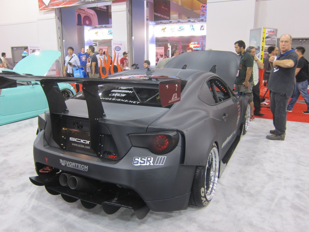 Scion FRS Hottest Sport Compact at SEMA Show 2012
