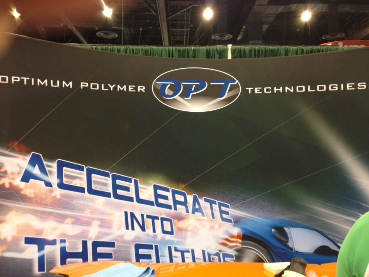 Optimum Banner at SEMA 2012