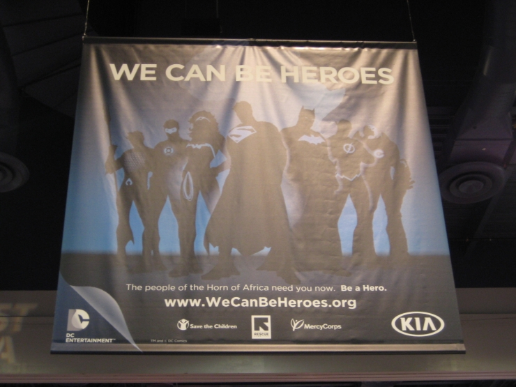 SEMA 2012 Kia DC Comics Justice League Banner