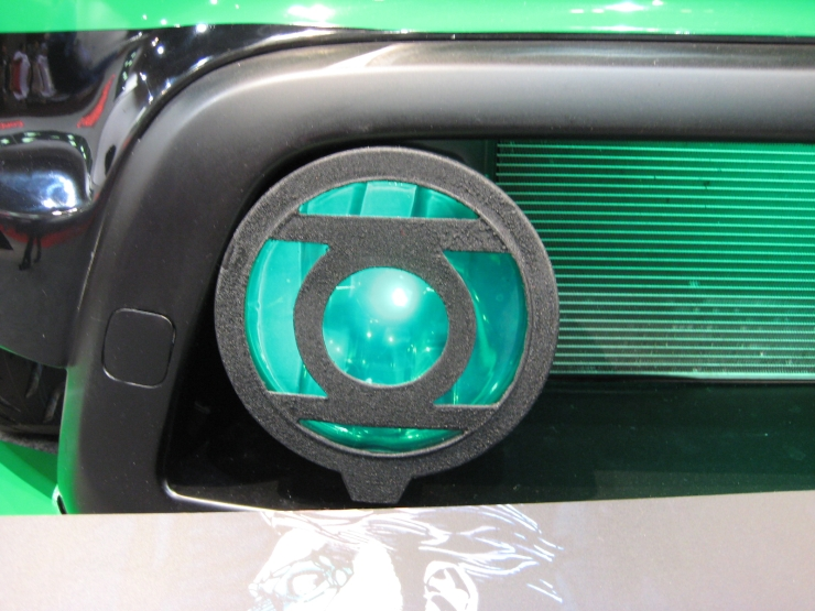 SEMA 2012 Kia DC Comics Justice League Green Lanern Soul Emblem