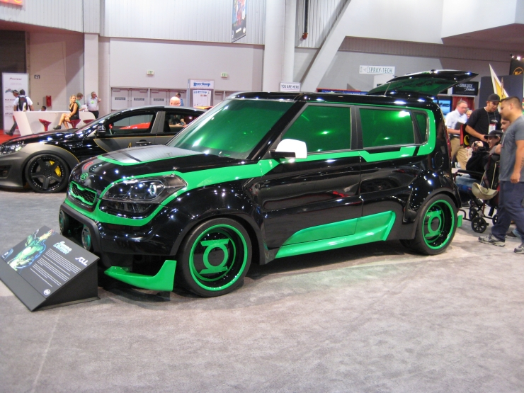 SEMA 2012 Kia DC Comics Justice League Green Lantern Soul