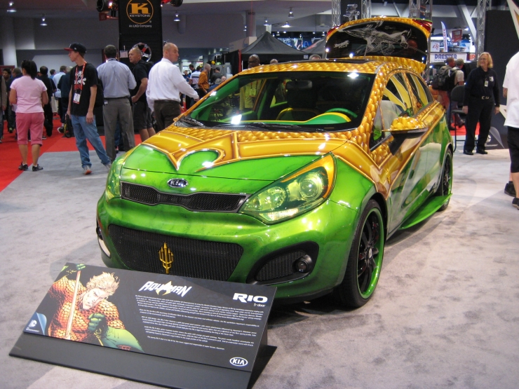 SEMA 2012 Kia DC Comics Justice League Aquaman Rio