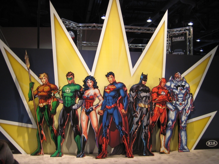 SEMA 2012 Kia DC Comics Justice League Display