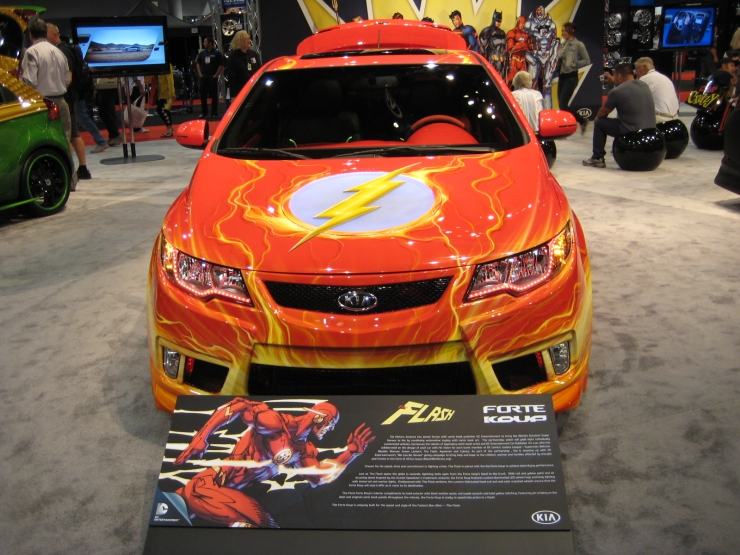 SEMA 2012 Kia DC Comics Justice League Flash Rio