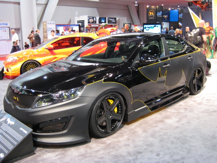SEMA 2012 Kia DC Comics Justice League Batman Optima SX Limited