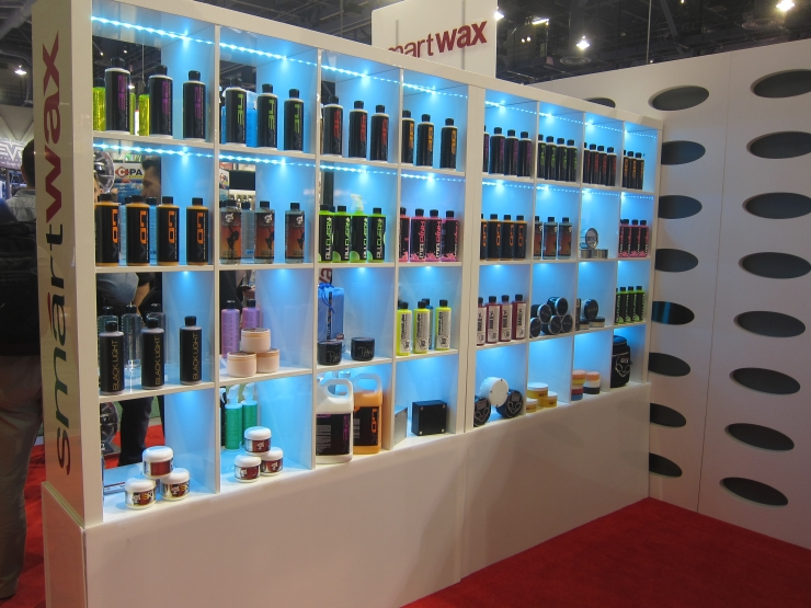 Chemical Guys Display at SEMA 2012