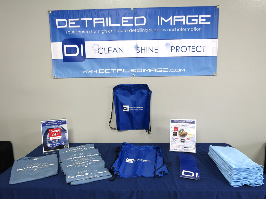 The Detailed Image booth at the California Car Care Expo
