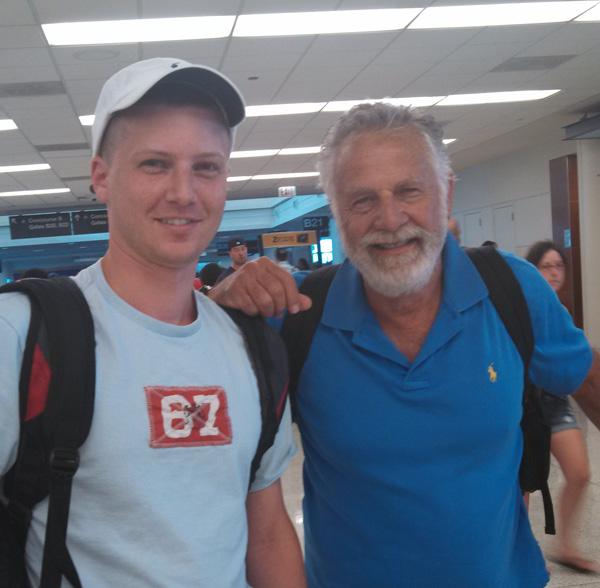 Greg from DI with the most interesting man in the world