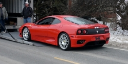 Full Detail: Ferrari Challenge Stradale in Rosso Scuderia post thumbnail