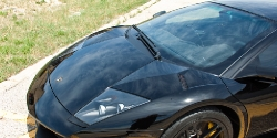 Black Lamborghini Murcielago Paint Correction and Clear Bra Prep Thumbnail
