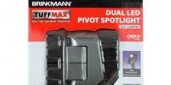 Product Review: Brinkmann TuffMax Dual LED Pivot Spotlight Thumbnail