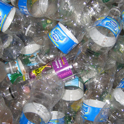 Water Bottles and Cans – We insist that our employees recycle all their cans