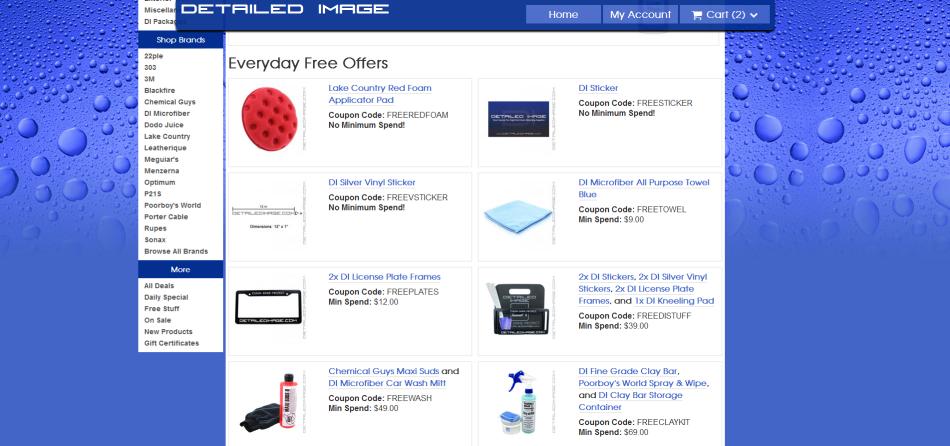 New DI Free Stuff Page