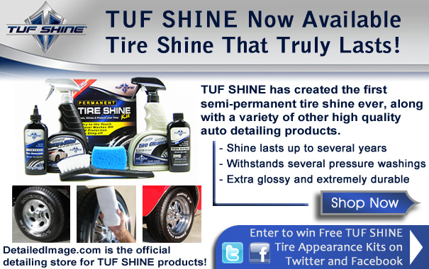 TUF SHINE Now Available - Tire Shine That Truly Lasts