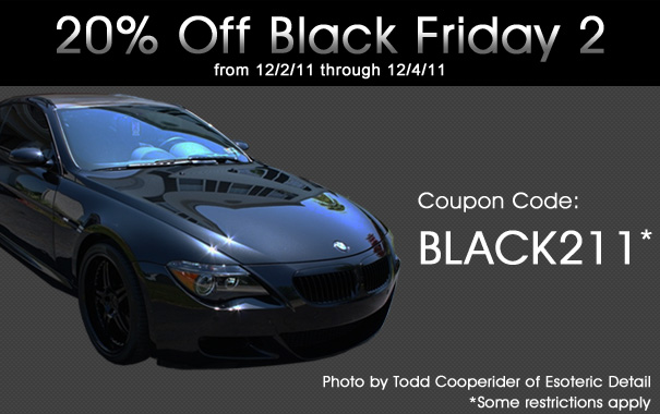 20% Off Black Friday 2