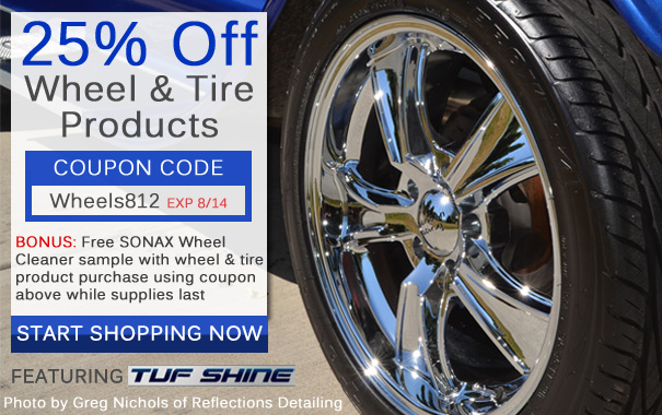 25% Off Wheel and Tire Products - Coupon: Wheels812
