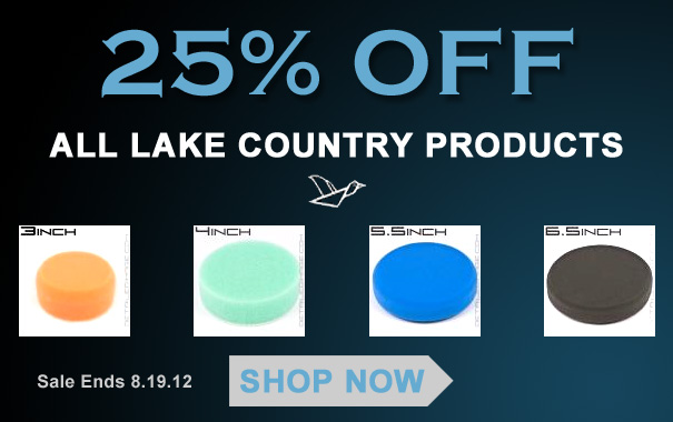 25% Off All Lake Country Products