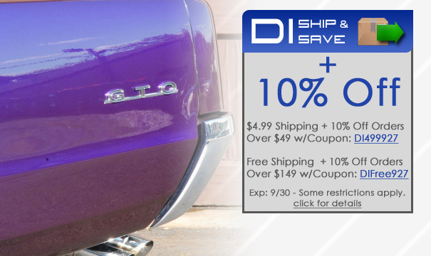 DI Ship and Save + 10% Off