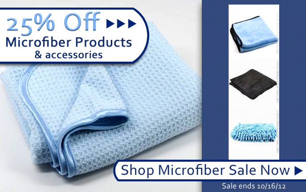 25% Off Microfiber Products and Accessories