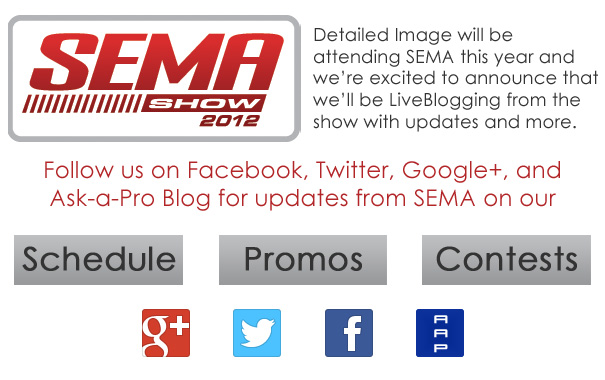 SEMA Show 2012 Announcement