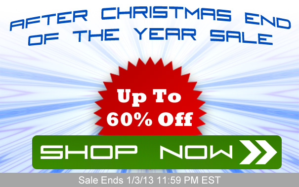 After Christmas End Of The Year Sale - Up To 60% Off