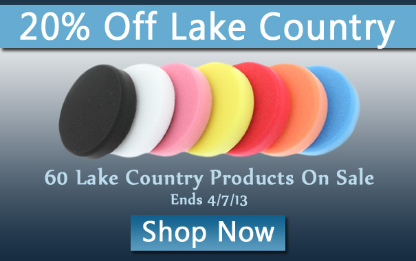 20% Off Lake Country Products