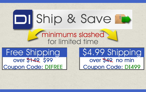 Ship and Save Coupon Minimums Slashed