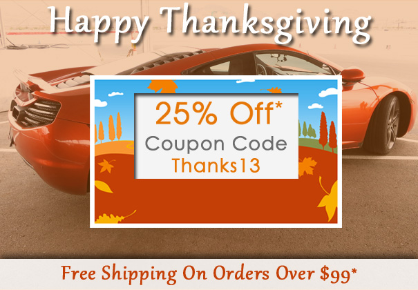 Happy Thanksgiving - 25% Off Code Thanks13