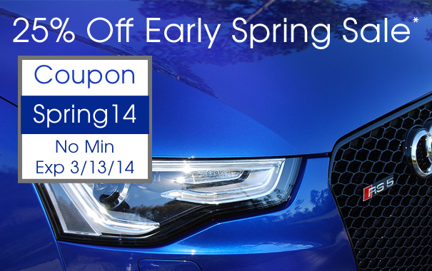 25% Off Early Spring Sale - Coupon Code Spring14*
