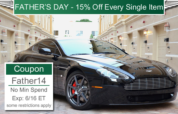 15% Off Every Single Item Father's Day Special - Coupon: Father14 - No Min - Exp: 6/16/14  11:59 PM ET.