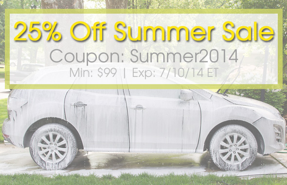 25% Off Summer Sale - Coupon: Summer2014 - Exp: 7/10/14 ET