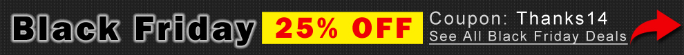 Black Friday 25% Off Coupon Thanks14 - See All Black Friday Deals