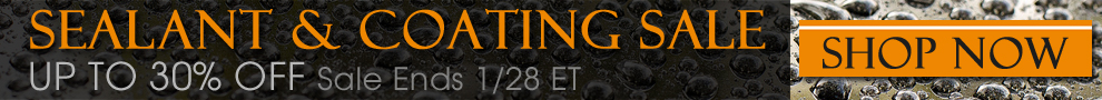Sealants & Coatings Up To 30% Off! Shop Now