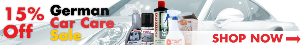 15% Off German Car Care Sale - Shop Now