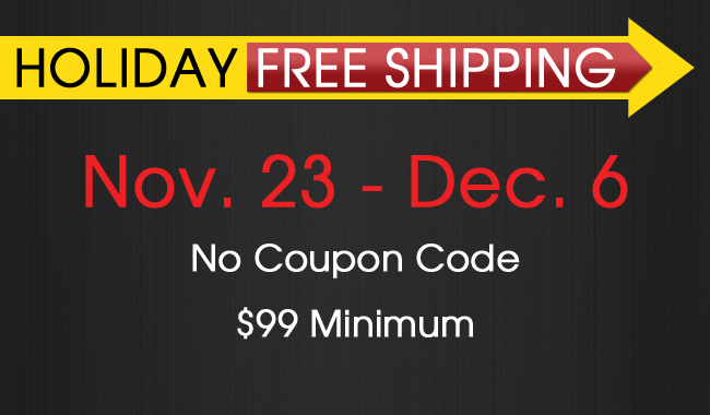 Holiday Free Shipping Over $99 With No Coupon Required