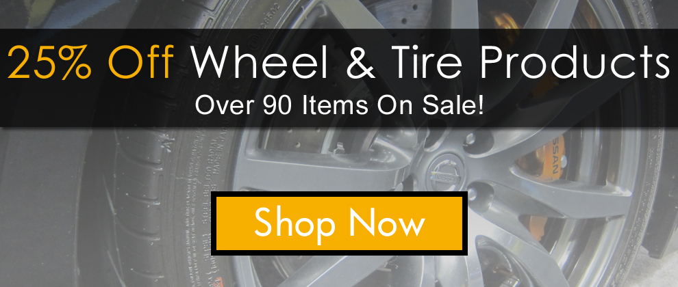 25% Off Wheel and Tire Products - Shop Now