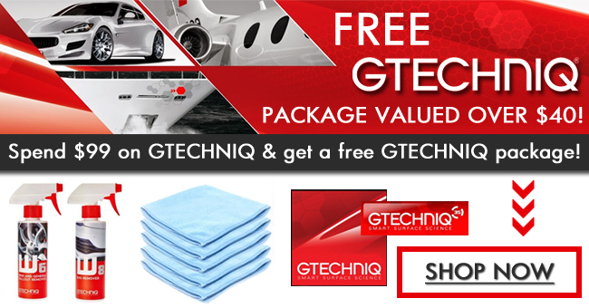 Free Gtechniq Package Valued Over $40 - Shop Now