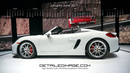 Detailed Image 2017 Wallpaper Calendar 1