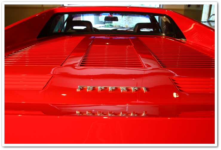 1985 Ferrari 288 GTO after detail back view