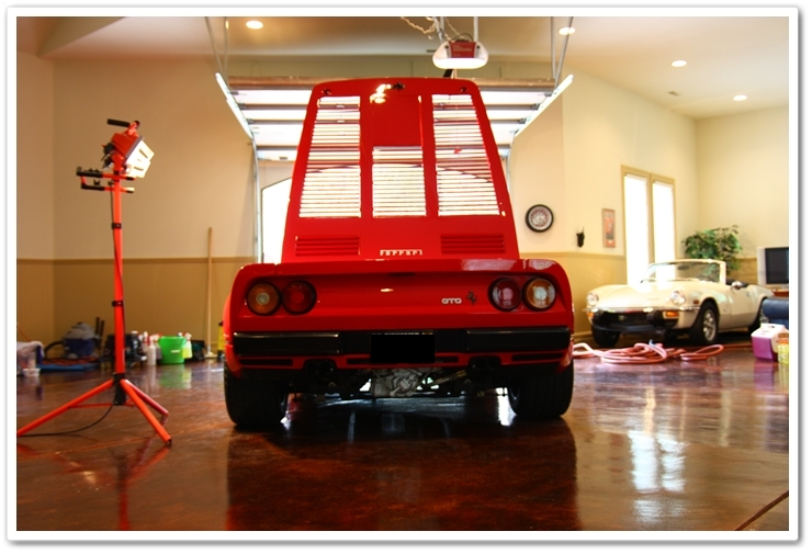 1985 Ferrari 288 GTO professionally detailed by Esoteric Auto Detail of Columbus, Ohio