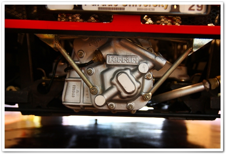 1985 Ferrari 288 GTO gear box after detail