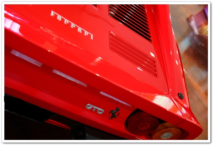 1985 Ferrari 288 GTO badge